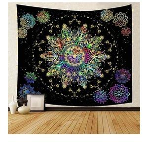 🆕️ Boho Hippie Tapestry Colorful Starry Sky